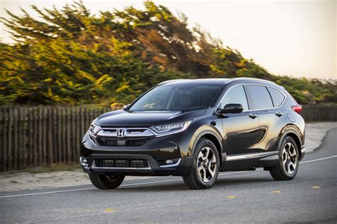 2017 Honda Cr-v Touring Awd First Test