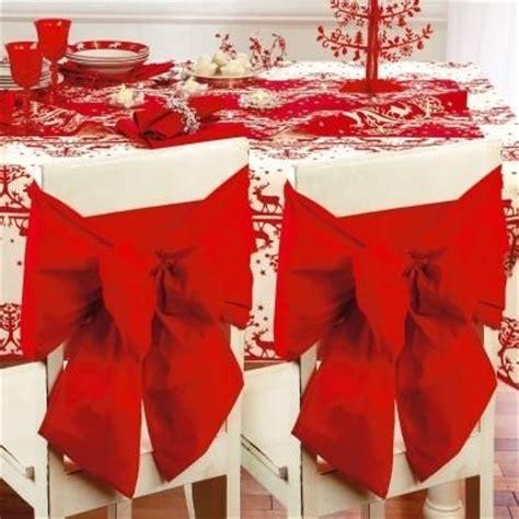 1 housse pour dossier de chaise decoration noel mariage noeud qualite noel