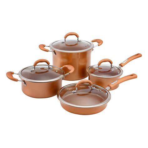 cookware copper hamilton beach walmart piece sets kitchenware canada
