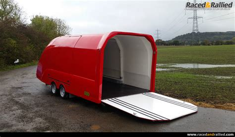 covered car 2016 eco trailer velocity rs covered enclosed car trailer