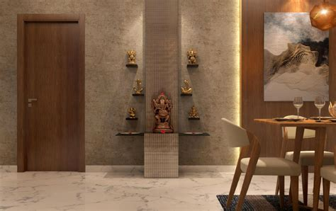 exquisite pooja shelf designs  walls