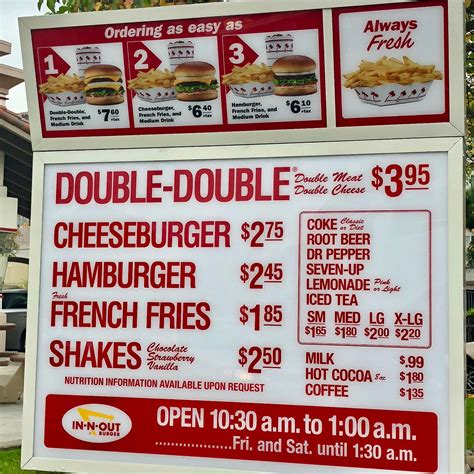File:In-N-Out Burger drive-thru menu (5612).jpg ...