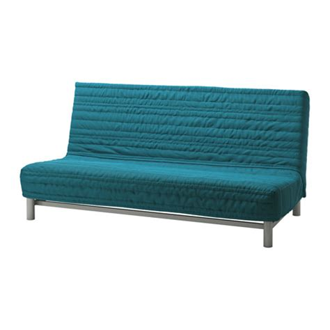 beddinge sofa bed slipcover knisa turquoise ikea