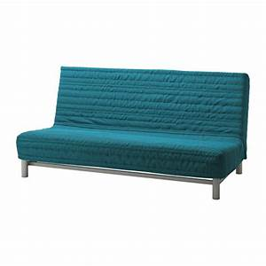 Beddinge lovas sofa bed knisa turquoise ikea for Ikea futon beddinge
