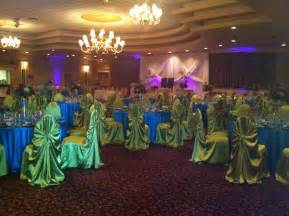cheap reception halls lovely peacock wedding decor picture 25