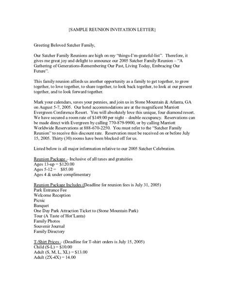 2019 Invitation Letter Sample - Fillable, Printable PDF