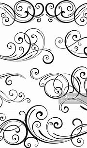 Swirl Elements High-Res Vector Graphic - Getty Images