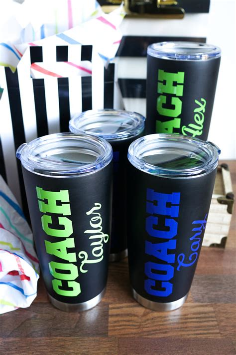 christmas gift coach stainless steel tumbler coach by