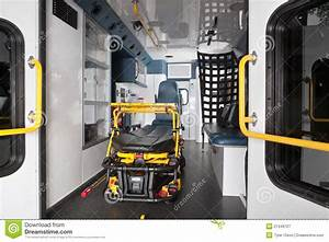 Ambulance Interior stock image. Image of inside, truck ...