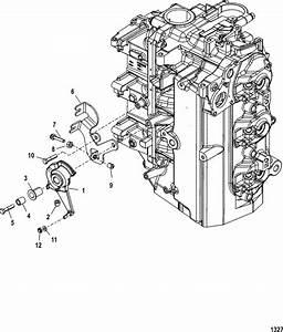 Mercury Marine 75 Hp Dfi  3 Cylinder   1 5l  Throttle Lever  U0026 Linkage Parts