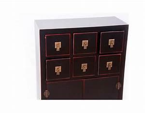 Meuble Chinois Rouge : meuble de rangement chinois noir et rouge pas cher ~ Teatrodelosmanantiales.com Idées de Décoration