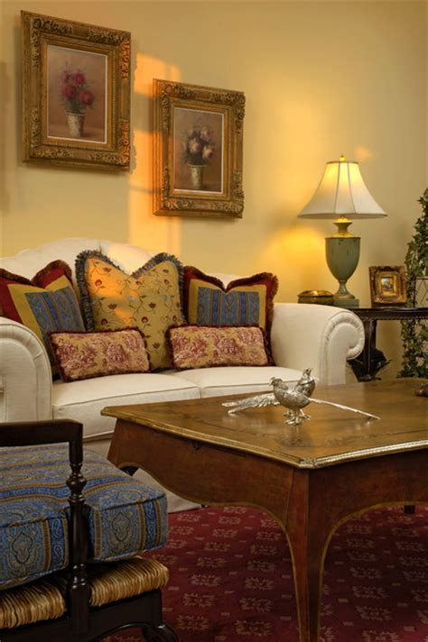 Mahoney French Country Living Room