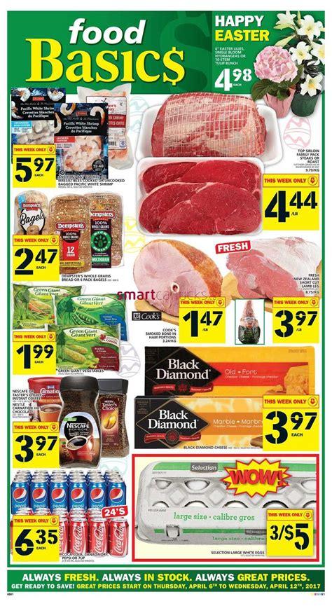 basics of cuisine food basics flyer april 6 to 12 food basics flyer