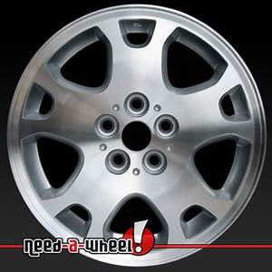 2003 2005 Dodge Neon wheels Machined Silver rims 2193