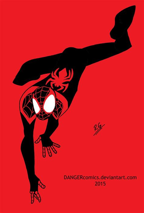 Miles Morales The Ultimate Spiderman By Dangercomics On