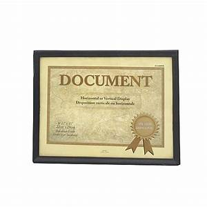 wholesale z8 1 2quotquot x 11quotquot document frame glw With cheap document frames