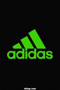 Green Adidas iPhone Wallpaper 1189