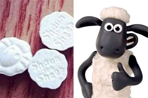 Sick Drug Dealers Peddle Shaun The Sheep E Pills Round Shower Curtain Rod Target Curved Chrome Red Kite Blue Curtains Designs Latest Vinyl Sound Barrier 2010 Window Top Quality Ready Made