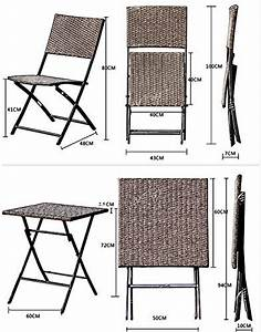 Balkonmöbel Rattan Set : terrasse balkonm bel faltbare bistro m bel sets holz harz und rattan gartentisch set 3 teilig ~ Whattoseeinmadrid.com Haus und Dekorationen