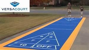 Shuffleboard Court By Versacourt