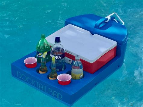 Bar Accessories Gifts by Docktail Floating Bar Gifts For Boaters Gifts For