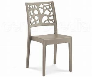 Krizia sedia polipropilene sedie plastica polipropilene for Sedia in polipropilene
