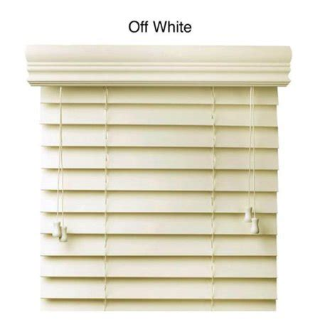 wood blinds walmart faux wood 34 inch blinds white 34 x 73 walmart