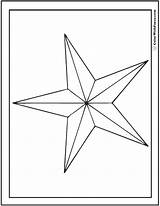 Coloring Star Nautical Pages Printable Pdf Colorwithfuzzy sketch template