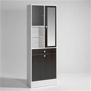 Armoire Rangement Salle De Bain : meuble a linge meubles salle de bain comparer les prix sur ~ Melissatoandfro.com Idées de Décoration