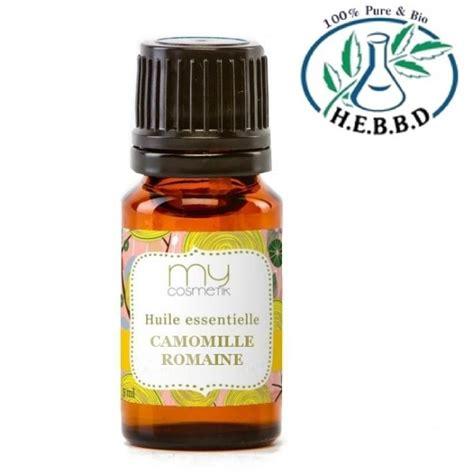 le a huile romaine huile essentielle de camomille romaine propri 233 t 233 s et utilisation