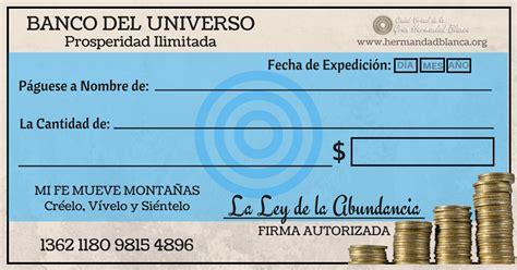 ¿Ya Tienes Tu Cheque De La Abundancia? ¿Sabes Cuál Es La ...