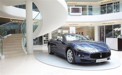Maserati And Poltrona Frau Showcased At Design Centre