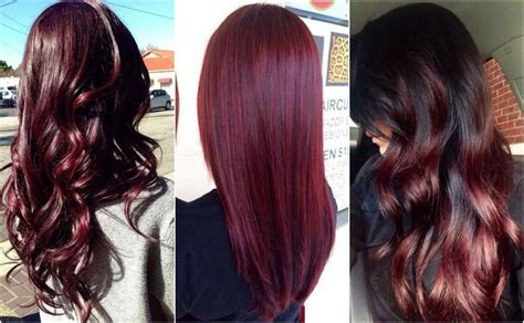 Find The Perfect Cherry Cola Hair Color For You