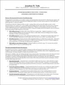 summary of achievements resume exles sle expanded achievements summary
