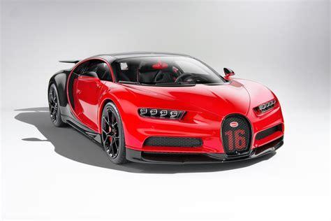 Original taken by bugatti automobiles s.a.s. Red Bugatti Chiron Wallpaper 52338 - Baltana