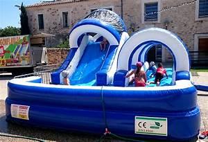 Jeux Gonflable Pour Piscine : jeu aquatique gonflable toboggan piscine mes sc nes de stars ~ Dailycaller-alerts.com Idées de Décoration