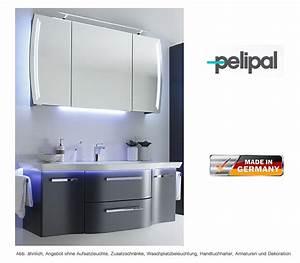 Pelipal Contea Badmöbel Set : pelipal badm bel als set contea mit spiegelschrank 128 cm impulsbad ~ Bigdaddyawards.com Haus und Dekorationen