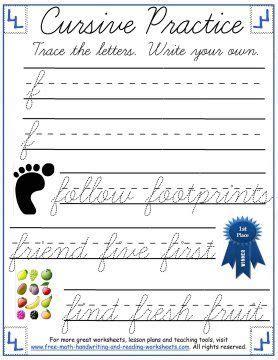 write  cursive