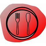 Restaurant Clip Clker Clipart Vector