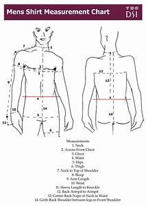 Men U0026 39 S Shirt Measurement Chart