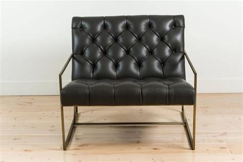 Thin Frame Lounge Chair In Diamond Tufted Charcoal Leather Cheap Diy Living Room Decorating Ideas The Interior Design Auckland How To Decorate A Rectangular Shaped With White Couch Opus Oak Furniture And Dining Photos Clean Carpet Bar Uk