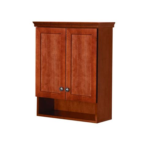Glacier Bay Bathroom Storage Cabinet by Glacier Bay Lancaster 22 In W X 28 In H X 8 37 50 In D