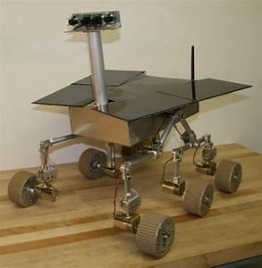 Spirit II – Mars Rover: INSIDE VIEW « Beatty Robotics