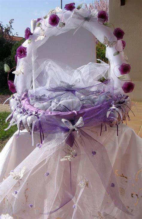 decoration de corbeille pour mariage corbeille a dragees photo de mariage mes petites activit 233 s