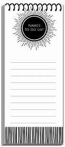 Print A Blank Calendar Free Notepads That Can Be Personalized Before You Print