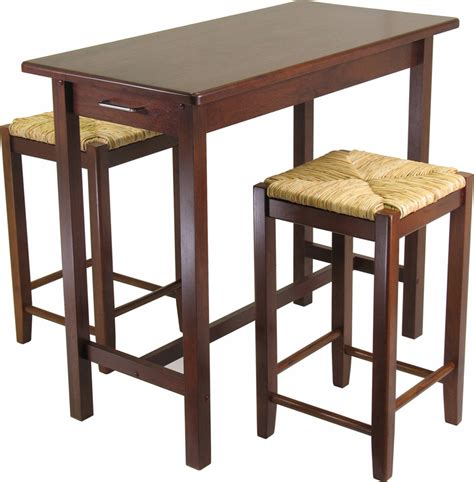 small bar height table kitchen tables with stools 2017 grasscloth wallpaper
