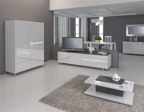 meuble tv design laque davaus net salon moderne blanc laque avec des id 233 es int 233 ressantes pour la conception de la