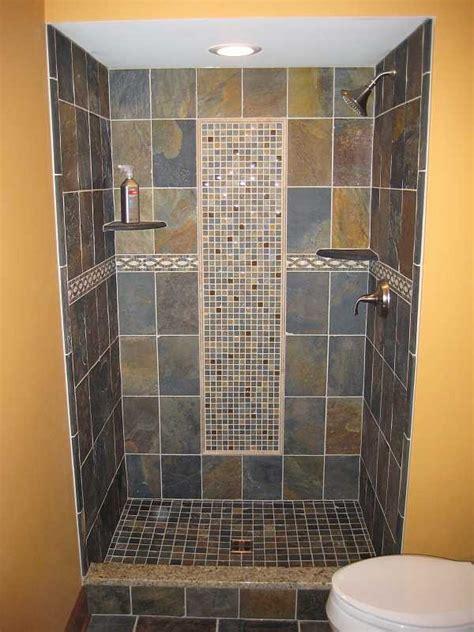 slate tile bathroom designs tile shower i want this ideas