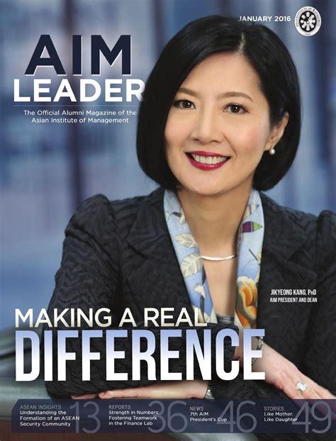 aim leader january  issue  aim alumni publication