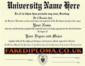 Superior fake diploma fake degrees for Fake certificates maker